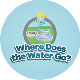 Where does the water go video